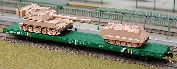 Axle Ho Scale Rail Cars