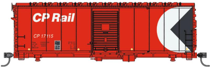 1179 Walthers Mainline 40/' AAR Modernized 1948 Boxcar United Parcel Service