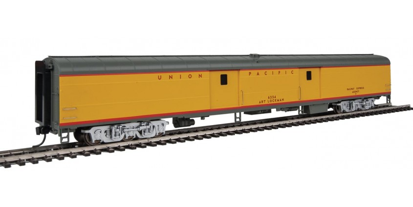 Walthers Proto 9205 UNION PACIFIC Heritage Fleet ACF BAGGAGE CAR w// FLAG NIB